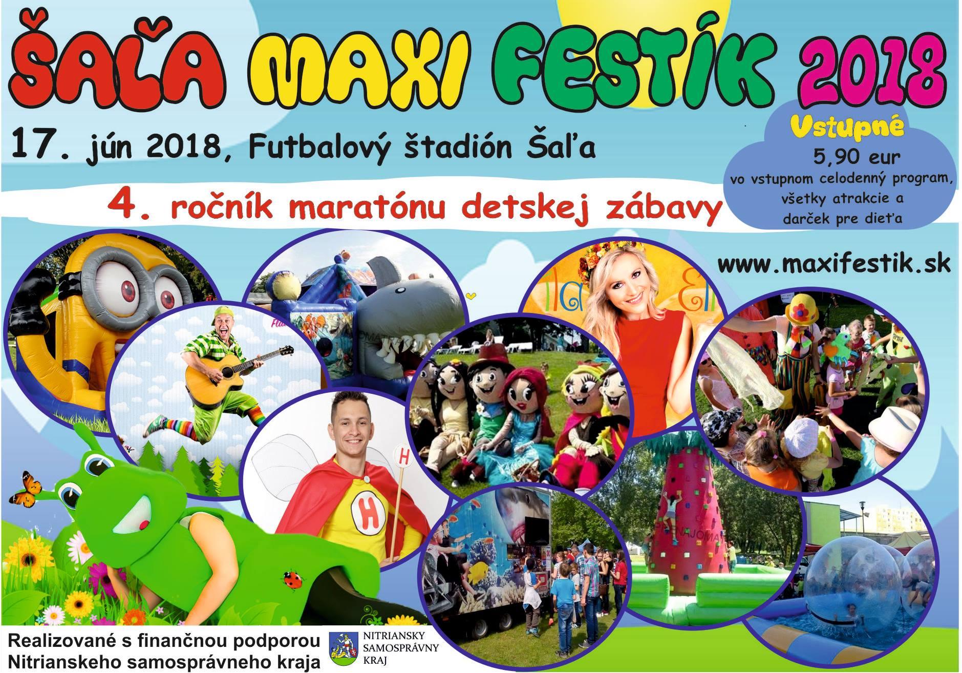 V Šali sa bude konať celodenný maratón dets - Kam v meste  e20f6a2c09c